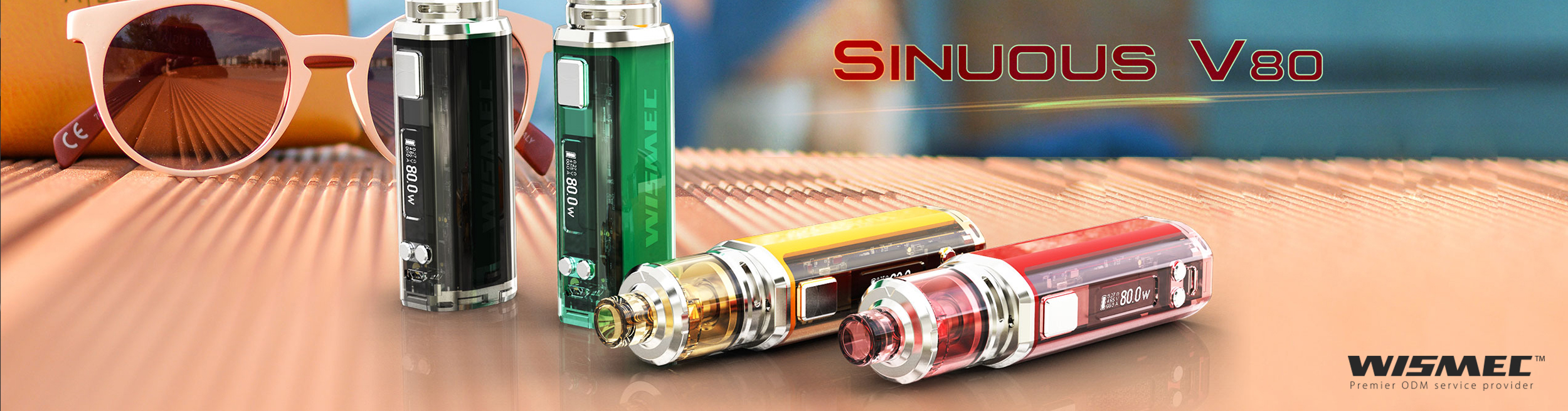 SINUOUS V80 with Amor NSE