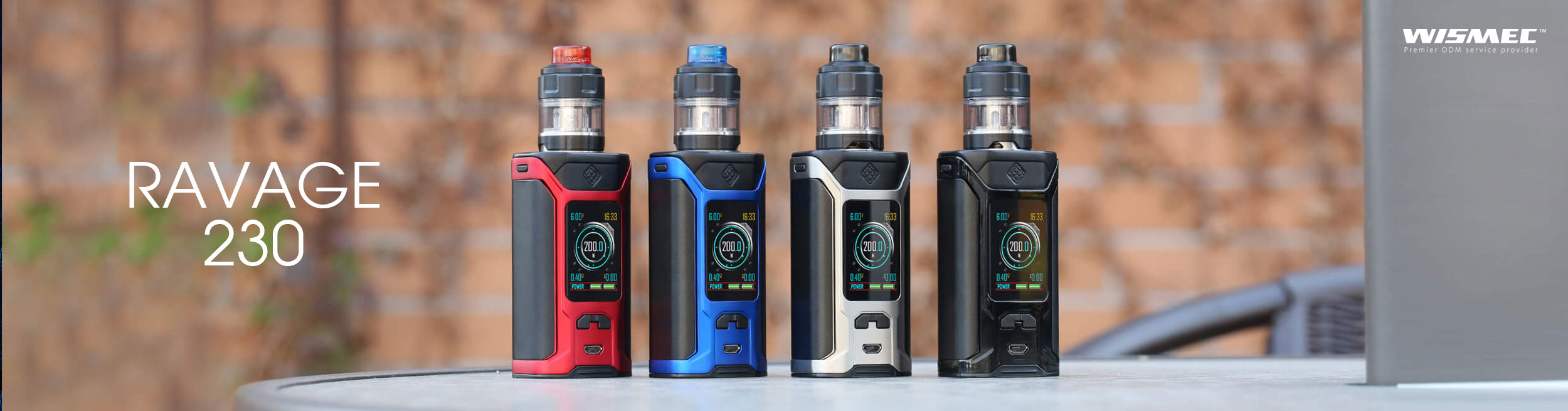 Sinuous Ravage230 Wismec